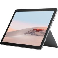 """Microsoft Surface Go 2 - Tablet - Core m3 8100Y / 1.1 GHz - Win 10 Pro - 8 GB RAM - 256 GB SSD - 26.7 cm (10.5"""") Touchscreen  1920 x 1280 (220 PPI) - HD Graphics 615 - NFC, Bluetooth, Wi-Fi - 4G - Silber"""