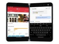 "Microsoft Surface Duo - Smartphone - Dual-SIM - 4G Gigabit Class LTE - 256 GB - 8.1"" 2700 x 1800 Pixel (401 ppi (Pixel pro Zoll)) - AMOLED - RAM 6 GB (11 MP Vorderkamera) - Android - Glacier"