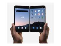 "Microsoft Surface Duo - Smartphone - Dual-SIM - 4G Gigabit Class LTE - 128 GB - 8.1"" 2700 x 1800 Pixel (401 ppi (Pixel pro Zoll)) - AMOLED - RAM 6 GB (11 MP Vorderkamera) - Android - Glacier"