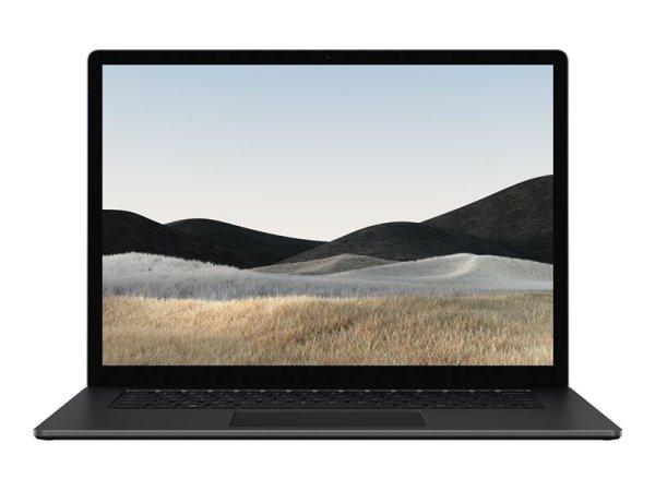 "Microsoft Surface Laptop 4 - Core i5 1145G7 - Win 10 Pro - 16 GB RAM - 512 GB SSD - 34.3 cm (13.5"") Touchscreen 2256 x 1504 - Iris Xe Graphics - Bluetooth, Wi-Fi 6 - mattschwarz - kbd: Deutsch"