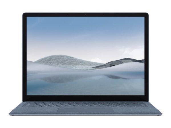 "Microsoft Surface Laptop 4 - Core i5 1145G7 - Win 10 Pro - 16 GB RAM - 512 GB SSD - 34.3 cm (13.5"") Touchscreen 2256 x 1504 - Iris Xe Graphics - Bluetooth, Wi-Fi 6 - Eisblau - kbd: Deutschl"