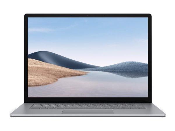 "Microsoft Surface Laptop 4 - Core i5 1145G7 - Win 10 Pro - 16 GB RAM - 512 GB SSD - 34.3 cm (13.5"") Touchscreen 2256 x 1504 - Iris Xe Graphics - Bluetooth, Wi-Fi 6 - Platin - kbd: Deutsch"