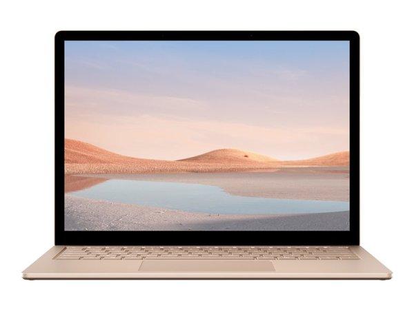 "Microsoft Surface Laptop 4 - Core i5 1145G7 - Win 10 Pro - 16 GB RAM - 512 GB SSD - 34.3 cm (13.5"") Touchscreen 2256 x 1504 - Iris Xe Graphics - Bluetooth, Wi-Fi 6 - Sandstone - kbd: Deutsch"